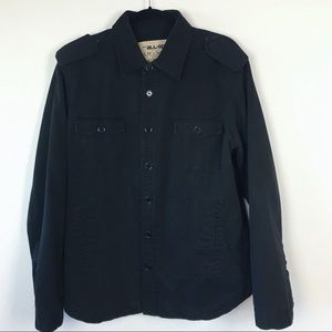 Urban Outfitters Thermal Black Utility Jacket